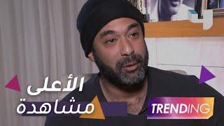 مقابلة هيثم أحمد زكي تحقق أعلى نسبة مشاهدة على أنستجرام