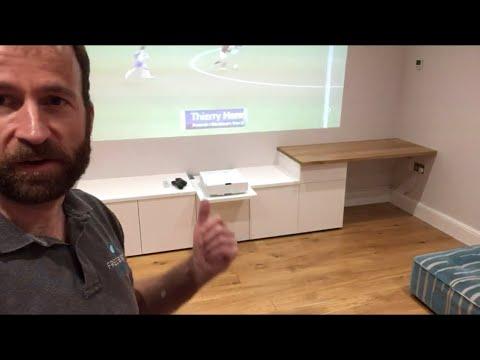 White Minimalist Media Unit Build, and more