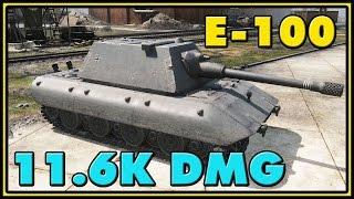 World of Tanks | E-100 - 9 Kills - 11.6K Damage