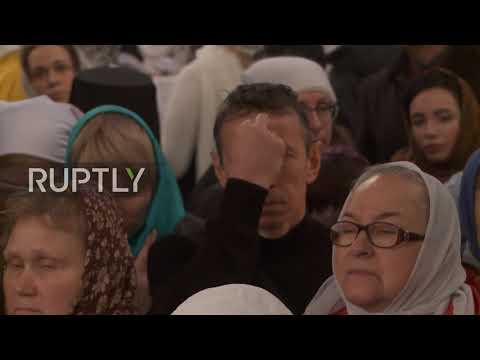Russia: Patriarch Kirill performs liturgy dedicated to Magnitogorsk tragedy victims