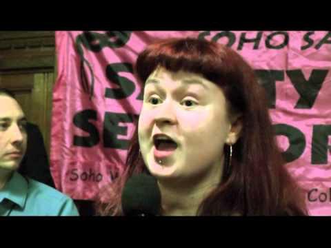 Aisling Gallagher Women's Officer NUS USI v Criminalisation of Sex Work
