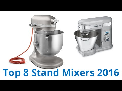 8 Best Stand Mixers 2016