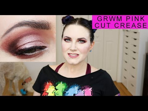 Get Ready With Me Pink Cut Crease w/ Anastasia Beverly Hills, Suva Beauty, Urban Decay, Milk Makeup