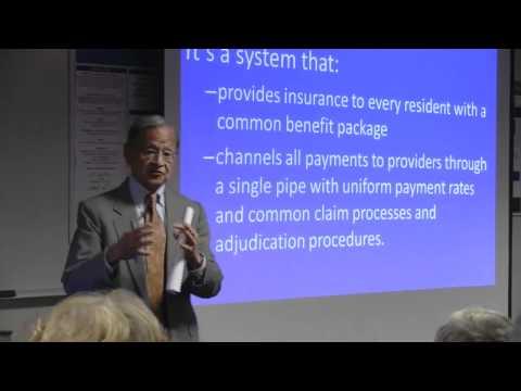 Dr. William Hsiao, Healthcare Reform and the Future Vitality of VT. Marlboro Graduate School, VT