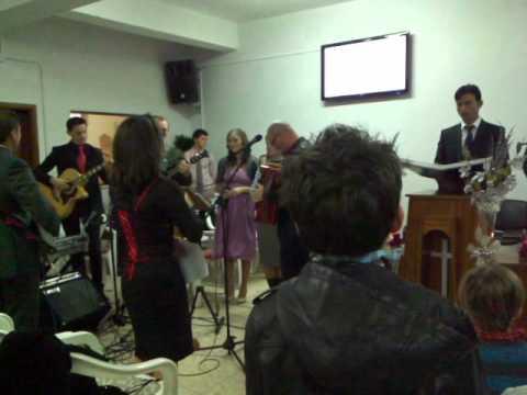 Colind 24 12 2010 biserica Penticostala Almancil-Portugalia