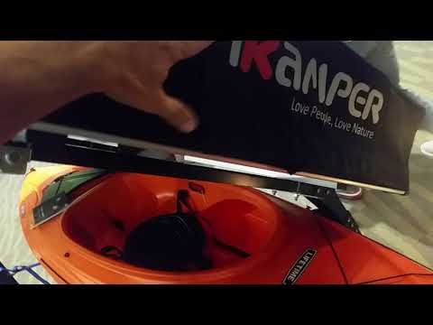 IKAMPER X-cover Rooftop Tent world premiere 1st COVERLESS