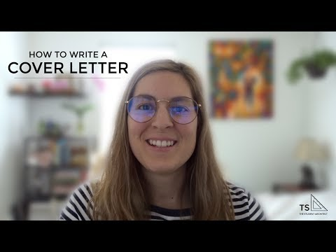 How To Write A Great Cover Letter For Applying To Jobs And Internships