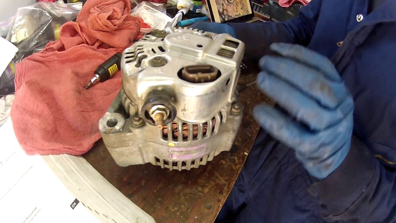 Alternator Brush Replacement