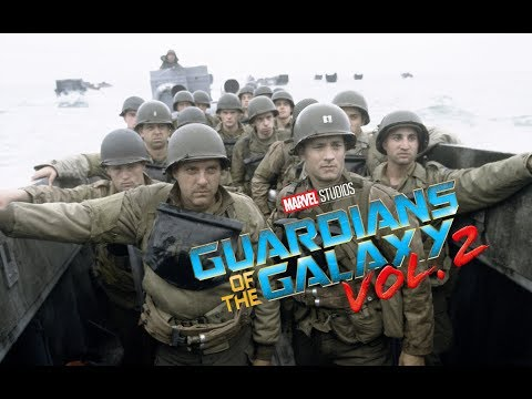 Saving Private Ryan with the Guardians of the Galaxy 2 Opening