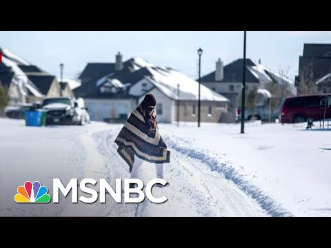 'This Is A Wake Up Call': Experts Say Climate Change Played A Role In TX Storm | The ReidOut | MSNBC