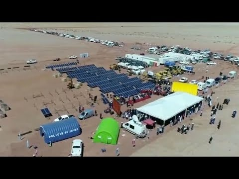 China invests in solar energy in Argentina