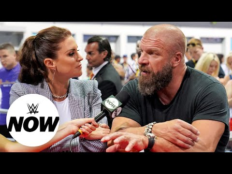 Triple H & Stephanie McMahon on WWE's presence at VidCon: WWE Now