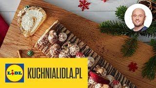 ŚWIĄTECZNA ROLADA piernikowa z kremem ⭐| Paweł Małecki & Kuchnia Lidla