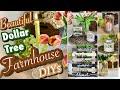 Dollar Tree Farmhouse Inspired DIYS | Candle, Vase, Decor