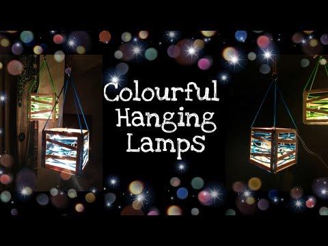 Diwali Decoration | Hanging lamp | DIY Hanging lights