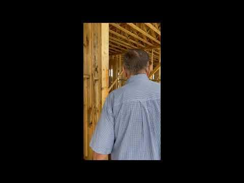 Tom Surveys the Driftwood Inn Rebuild