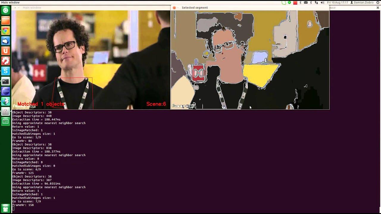 Image segmentation - OpenCV