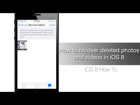 How to retrieve deleted pictures in iphone 4s
