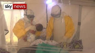 The world health organisation has declared ebola outbreak in democratic republic of congo as a global emergency - virus spread to major city...