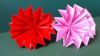 母の日に折り紙で折ったカーネーションをプレゼントしてみませんか?I w...