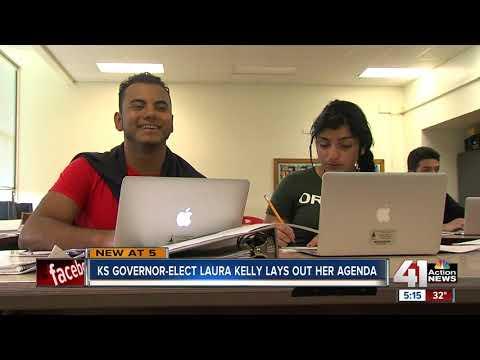 Kansas Gov.-elect Laura Kelly starts transition