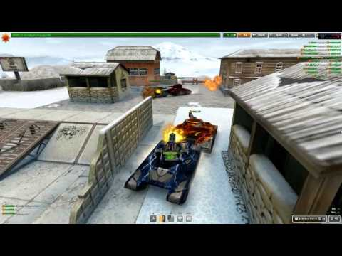 Let's Play Tanki Online #3 + GOLD By TemurGvaradze (ქართულად)