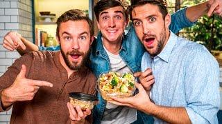 TRAVEL TIPS: AIRPLANE FOOD HACK W/ DONAL SKEHAN