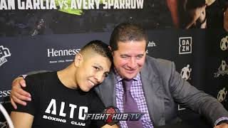 JAIME MUNGUIA AFTER ALLOTEY WIN, TALKS CHARLO, MOVING TO 160 & FIGHTING GGG & CANELO