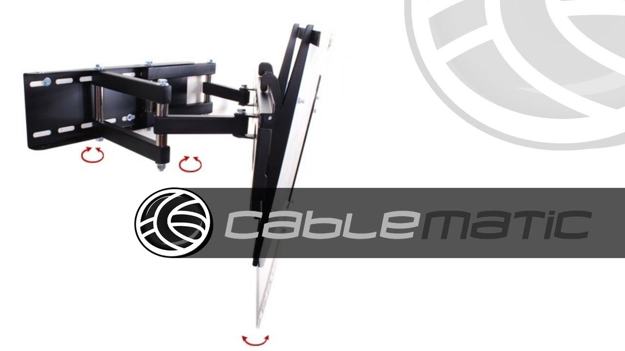 Soporte tv pantalla plana 32 60 con brazo extensible - Soporte tv extensible ...