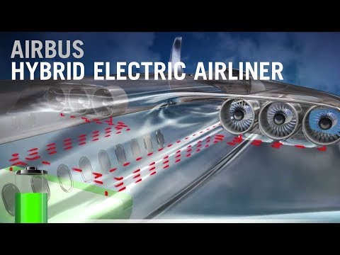 The Future Of Airbus Airliners Is Hybrid Electric - AINtv