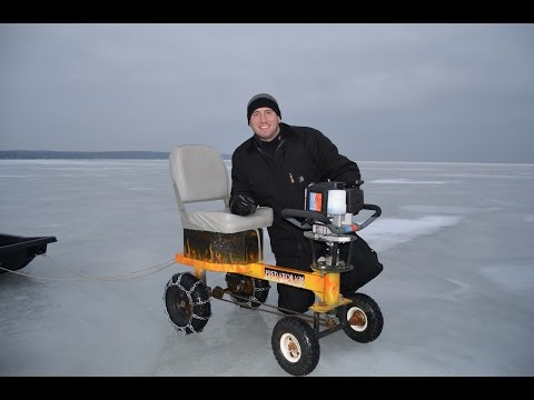 Discovery Channel Video of Ice Auger Machines - Predator 1600
