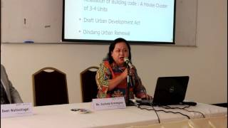Technical Session on Affordable Housing by  Ms. Suchada Sirorangsee, NHA Thailand
