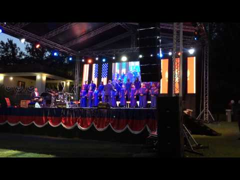 Morgan State University Choir performs July 4th concert in Montenegro