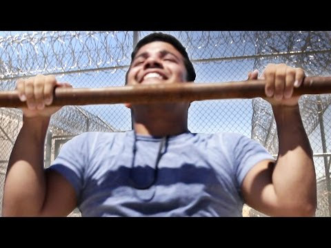 Men Work Out In Prison For A Week