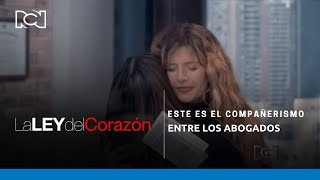 La Ley Del Corazón | Este es el compañerismo entre los abogados con María del Pilar