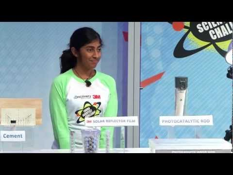 14-Year-old is America's Top Young Scientist: Her Solar-Powered Jug Purifies Water