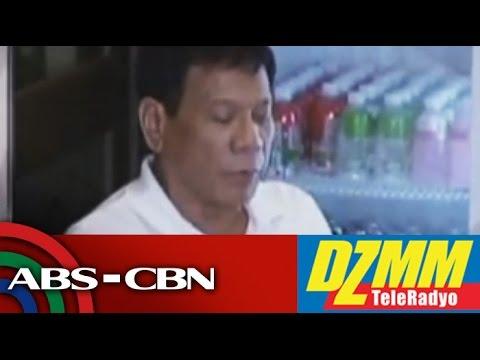 DZMM TeleRadyo: Duterte: President's day starts at 1pm