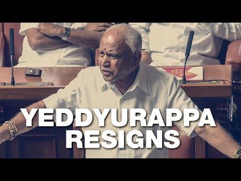 After A 55-Hour Stint As Karnataka CM, BS Yeddyurappa Resigns