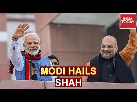PM Praises Amit Shah's 'Extensive And Insightful' Speech On Kashmir