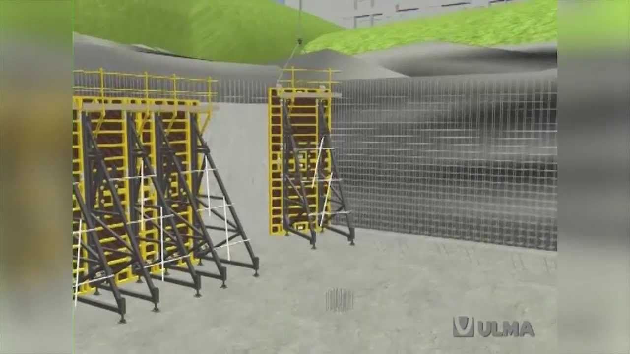 Single Sided Formwork Ucab Euc Ulma Construction En