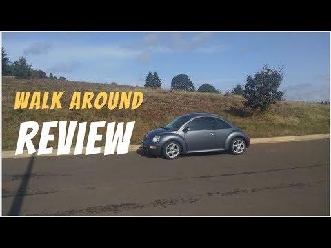 2005 Volkswagen New Beetle GLS Turbo Walkaround Review: Features, Options, Configurations