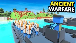 FUTURE D-DAY ATTACK IN ANCIENT WARFARE 3 (Ancient Warfare 3 Funny Gameplay)