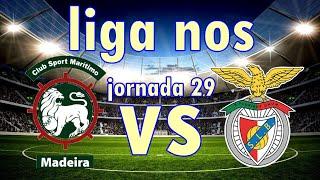 🔴 Maritimo 2-0 Sl Benfica Em Direto - Liga Nos Jornada 29 Relato