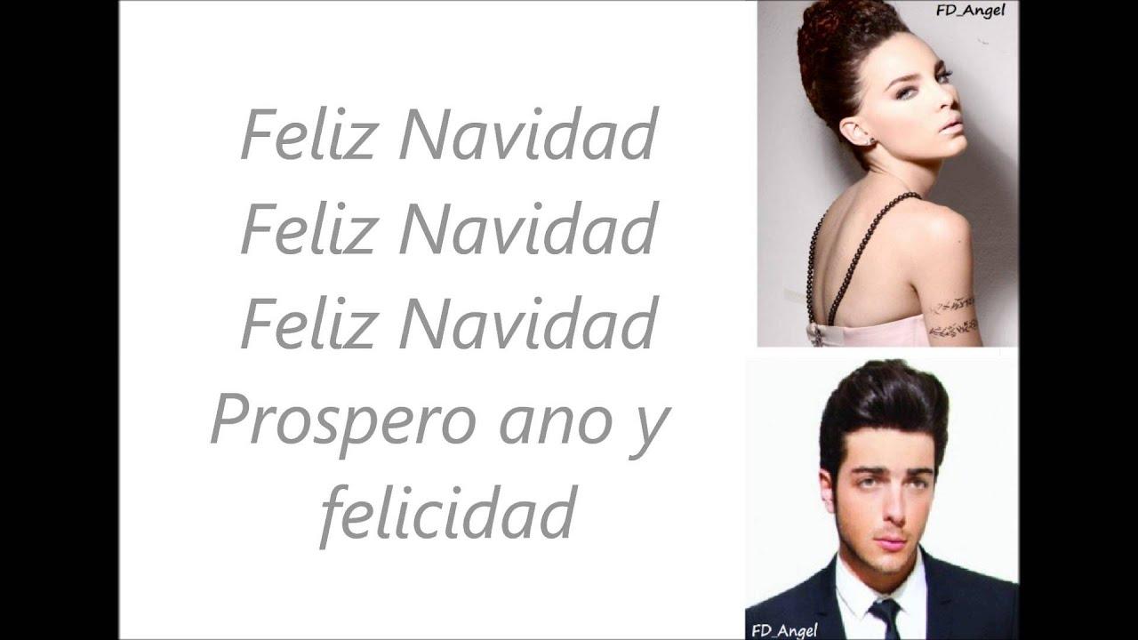 Feliz Navidad Il Divo.Il Volo Mis Deseos Feliz Navidad Feat Belinda With Lyrics Testo