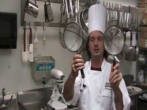 Kitchen Utensils In The Professional Kitchen And What Equipment You Need At Home