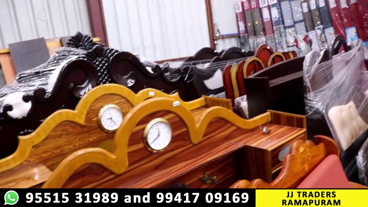 500 ரூபாய் முதல் புதிய Furnitures | Ramapuram New Furnitures | JJ Traders Ramapuram | Video Shop
