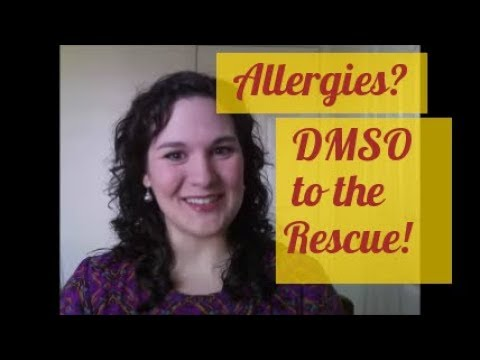 Have Allergies? How to Use DMSO for Natural Allergy Relief!