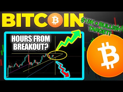 BITCOIN HOURS AWAY FROM CRITICAL PRICE MOVE?! | KEY BTC AREA!