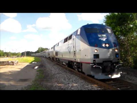 Amtrak Trains in Wisconsin Dells! ( Railfanning at ...
