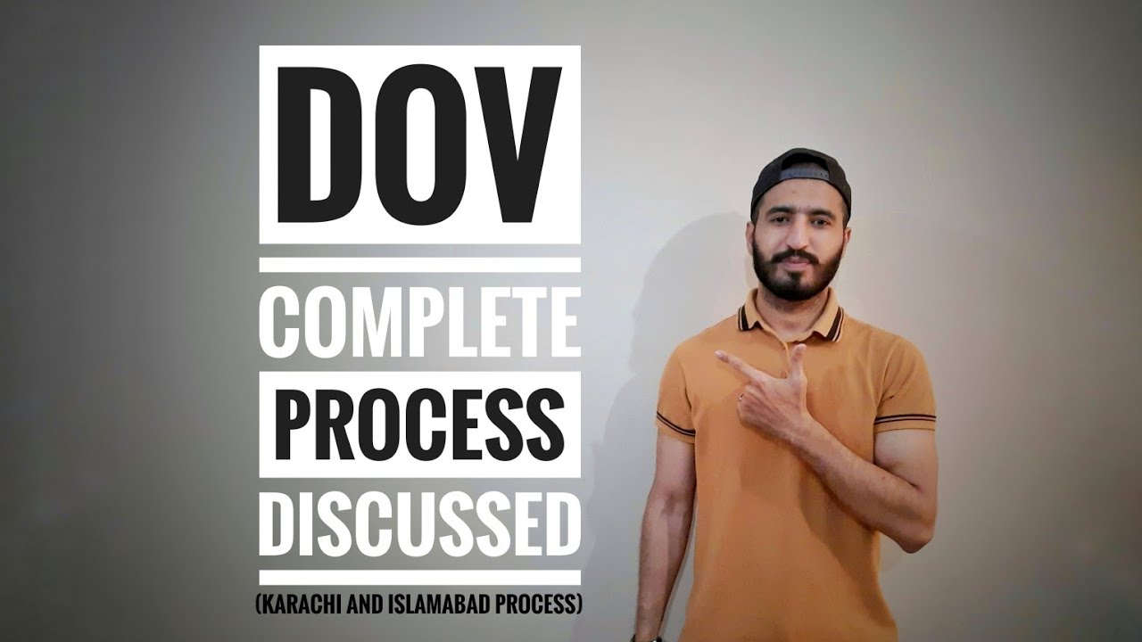 Download DOV Complete Process   Docs Requirement   When & How to Apply?   Discussed in detail